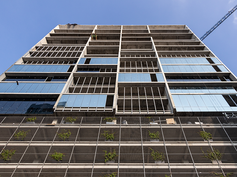 Avance de contrucción | Fachada Torre Evalor